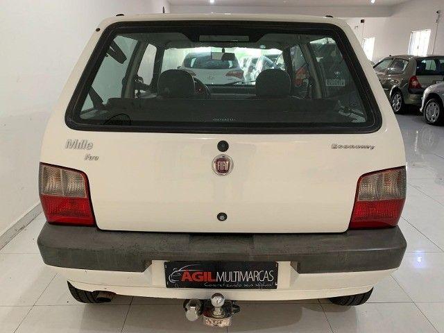 Fiat Uno 1.0 Mille Economy Único dono 2013 Branca  - Foto 6