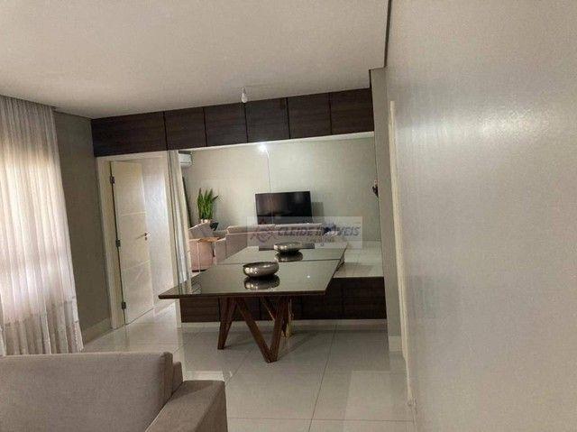 Apartamento com 4 dormitórios à venda por R$ 650.000,00 - Jardim das Américas - Cuiabá/MT - Foto 8