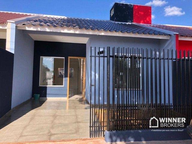 Casa com 2 dormitórios à venda, 58 m² por R$ 135.000 - Jardim Tropical - Marialva/PR