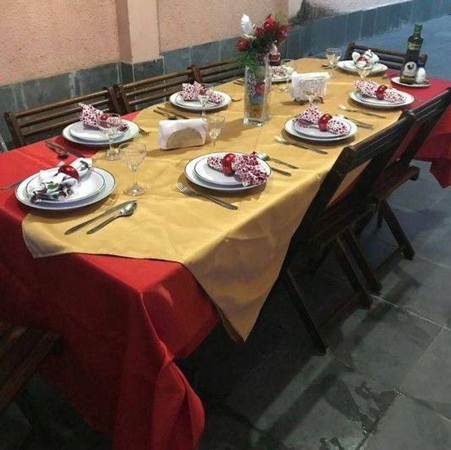 Aluguel mesa da Família c/08 lugares= 130,00 - Foto 3