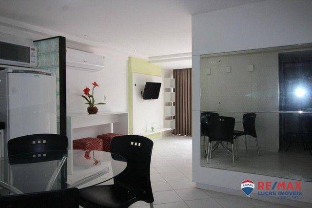 Apartamento com 1 dormitório à venda, 66 m² por R$ 310.000,00 - Cabo Branco - João Pessoa/ - Foto 20