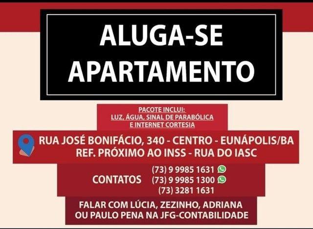 Apartamento 1/4 eunapolis