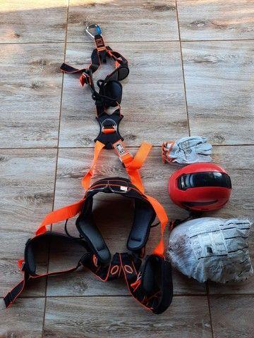 Cinto paraquedista completo  - Foto 2