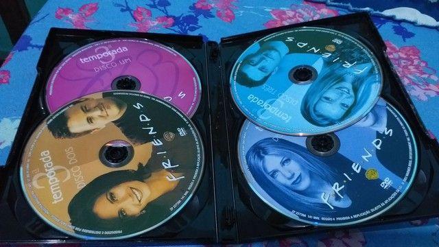 dvd 3 temporada completa friends  - Foto 3