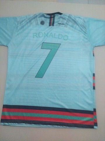 Camisa seleção de Portugal tamanho M - Foto 2