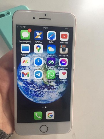IPHONE 7 PLUS ROSE 32 GB 100% ICLOUD LIVRE - Foto 4