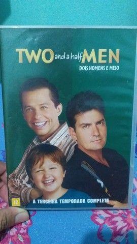 DVD 3 TEMPORADA COMPLETA DOIS HOMENS E MEIO (TWO AND A HALF MEN)