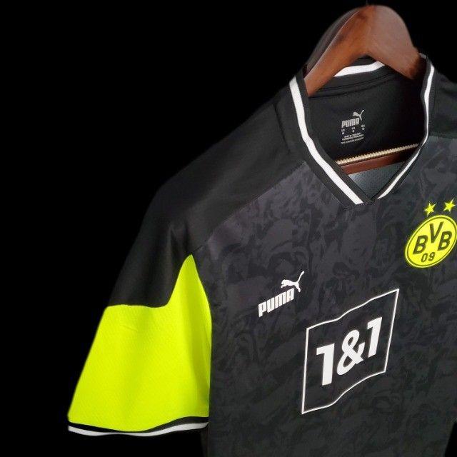 Camisa Borussia Dortmund 2021 - Foto 4