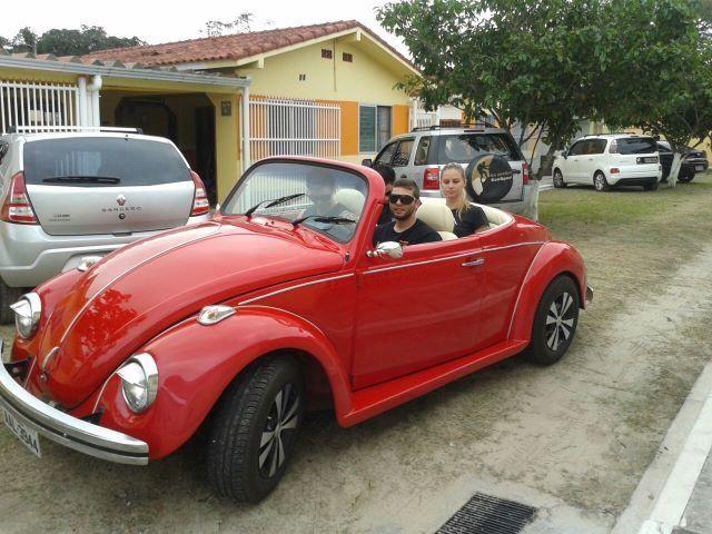 Vw - Volkswagen Fusca Cabriolet - Foto 4