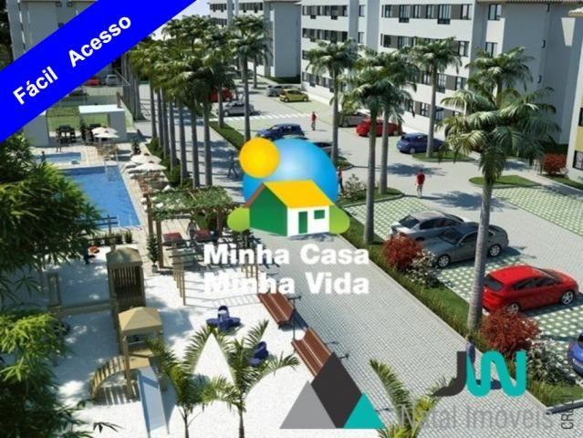 Apartamento com 2 quartos em Pajuçara, Natal/RN