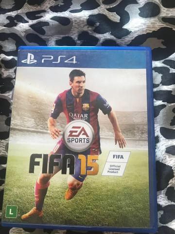 Vendo jogo Fifa15 PS4