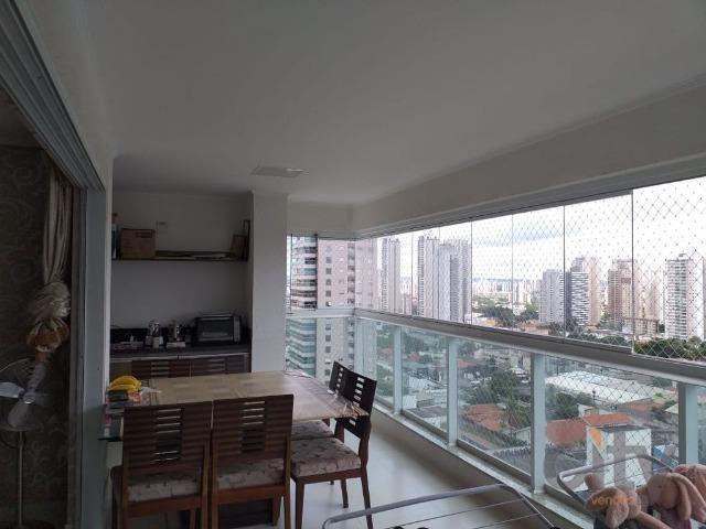 Venda de apartamento de 127m2, 3 suítes, 2 vagas, Res. Varandas Da Praça, Oeste, Goiânia