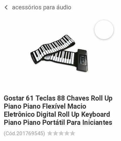 Teclado Piano Flexível - Foto 2