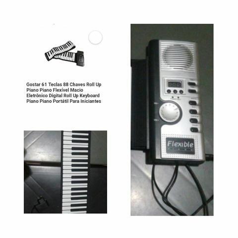 Teclado Piano Flexível - Foto 4