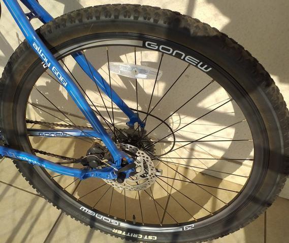 Bicicleta Gonew Endorphine 7.3 Shimano (Novíssima) - Foto 3