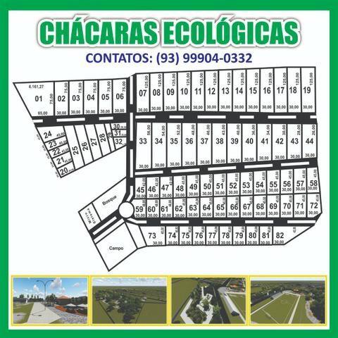 Chácaras Ecológicas parcelas a partir de R$ 400