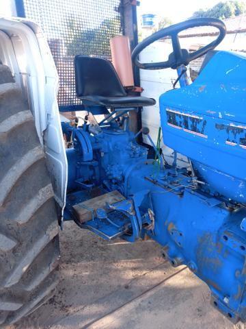 Trator ford 5610 com rocadeira - Foto 6