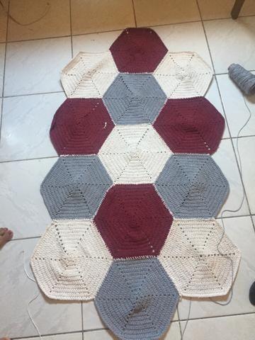 Tapete Crochêt - Foto 2