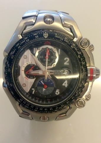 3172f1fd546 Relogio Masculino Orient Flytech Titanium Original Importado ...