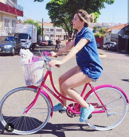 Linda bicicleta feminina - Foto 2
