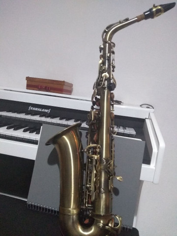 Sax alto waldmam begium, lindo novinho  - Foto 4