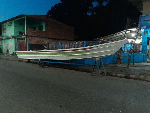 Canoa de 12 metros