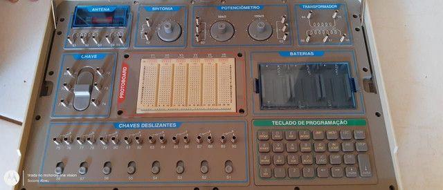 Kit eletrônica 500 em 1 Minipa MK-904 - Foto 4