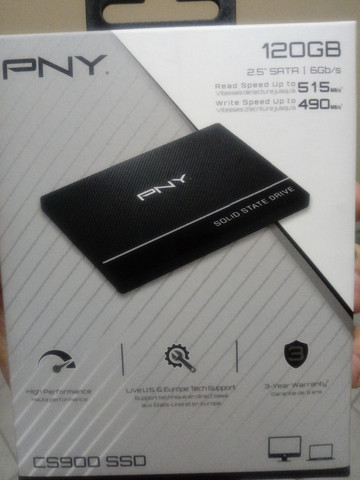 SSD (Solid State Drive) 120 GB