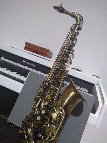 Sax alto waldmam begium, lindo novinho  - Foto 5