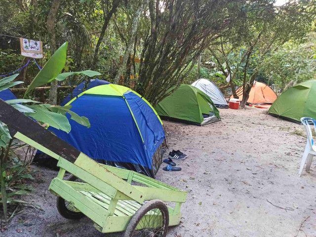 Últimas vagas finados camping Ilha do Mel - Foto 12