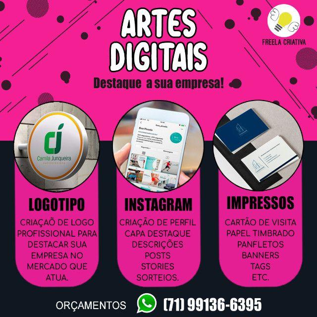 Criação de Arte final para Redes Sociais -Cards, Banners digitais, etc