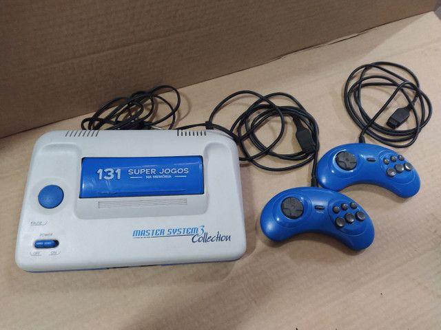 Master System + 2 controles completo e conservado - Foto 2