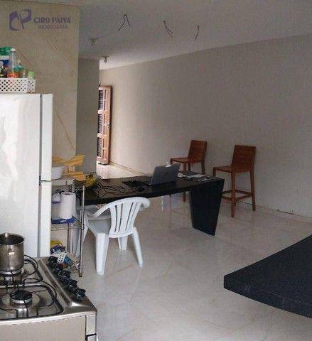 Casa com 2 dormitórios para alugar, 59 m² por R$ 1.000,00/mês - Centro - Eusébio/CE - Foto 4