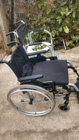 Cadeira De Rodas Ottobock + Cadeira De Banho - Foto 5