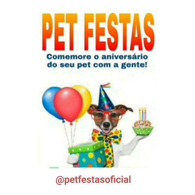 Pet festas comemore o aniversário do seu pet com a gente! - Foto 6