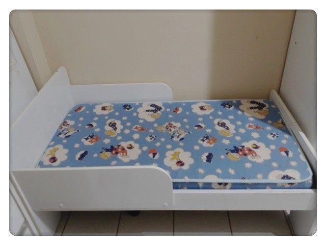 Berço mini cama + colchão - Foto 3
