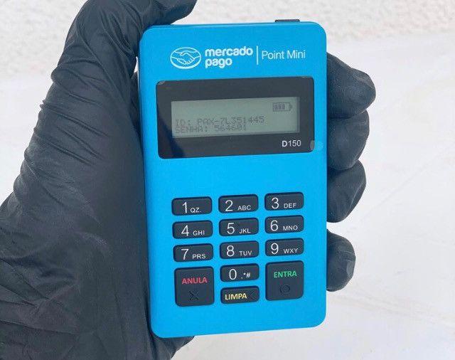 Maquininha Point Mini para revendedores - Cx. com 10, 20 ou mais unidades - Foto 4
