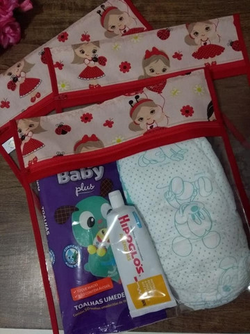 Saquinho maternidade (Kit com 3 unidades)