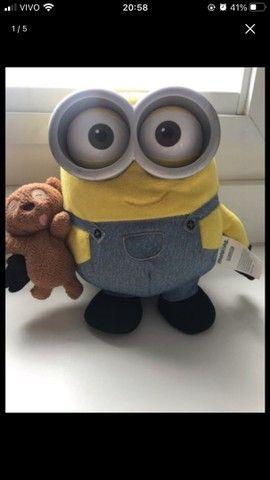 Minion Bob Malvado Favorito Original Teddy Bear 20cm