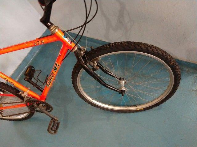 Caloi Moutain bike ATN antiga raridade - Foto 4