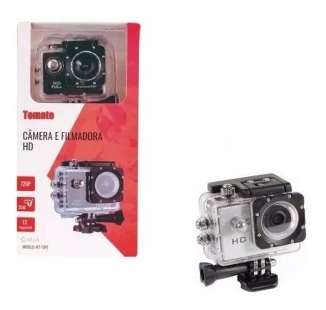 Câmera sportiva Tomate MT-1081 4K preta<br><br><br> - Foto 3