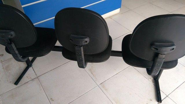 Cadeiras  Longarinas - Foto 2
