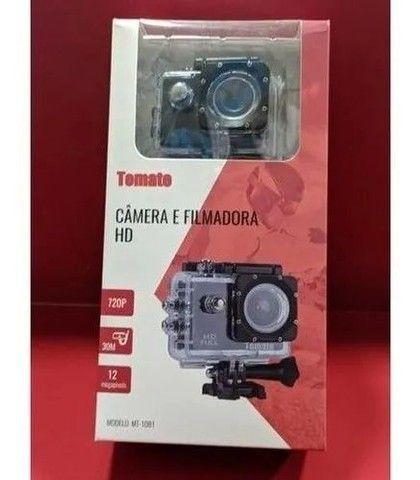 Câmera sportiva Tomate MT-1081 4K preta<br><br><br> - Foto 2