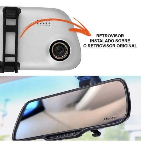 Espelho retrovisor Pioneer com câmera de Ré  - Foto 5