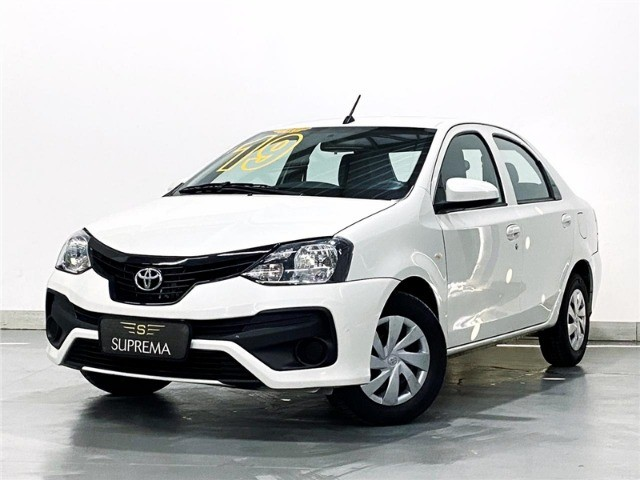 Toyota Etios 1.5 X Sedan 2019 automático Com Multimídia - Foto 5