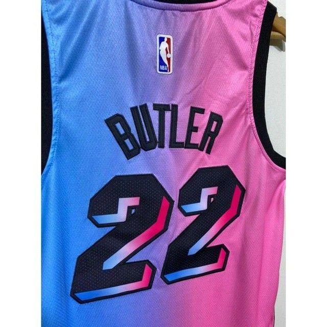 Camisa NBA Miami - Bordada - Foto 3