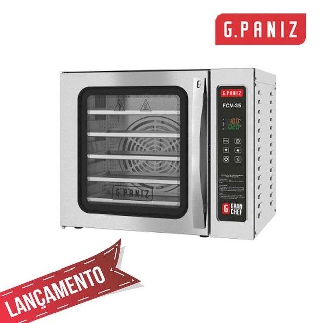 Forno Conveccao 5 assadeira 35x35 GPANIZ - JM equipamentos