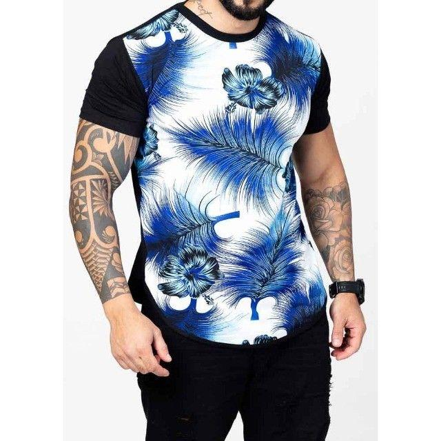 Camisa Long Line Swag