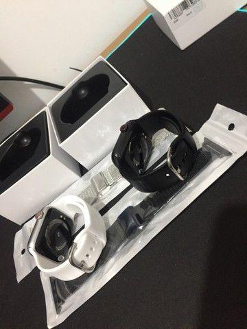 Smartwatch iwo 12 w26 tela infinita e muito mais  - Foto 3