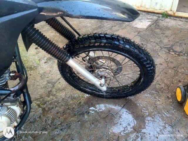 Bros ESDD 160 flexone agil pneus novos - Foto 3